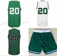 Wholesale Drop Ship Sports Jerseys - New Arrival 20 Gordon Hayward Basketball Jerseys Sports Men Hayward Jersey Team Green Alternate White Color Breathable Drop Shipping