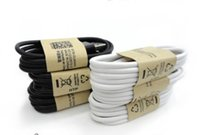 Wholesale S4 Piece - 10 piece USB charging cable 92cm 3 ft fit v8 micro for samsung 3 s4 for HTC usb charger