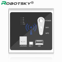 Wholesale Built 3g Router - Wholesale- USB wall socket built-AP Wireless Router USB wifi phone wall charger charging socket panel 3G outlet wifi wall switches