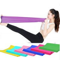 Caldo 1.5m Elastico Yoga Pilates Gomma Stretch Exercise Banda del braccio Back Fitness Fitness New Brand