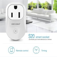 Wholesale US Stock ORVIBO WiFi Remote Control Smart Power Plug Outlet US Standard Socket Andoid ios App