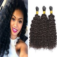 Wholesale wholesale braiding hair for sale for sale - Hot Sale A Kinky Curly Brazilian Bulk Human Hair For Braiding Unprocessed Human Braiding Hair Bulk No Weft Brazilian Braiding Hair