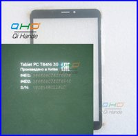 Wholesale External 3g For Tablets - Wholesale- New 8'' inch Tablet Capacitive Touch Screen Replacement For Oysters T84NI 3G Digitizer External screen Sensor Free Shipping