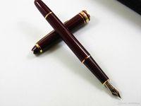 Wholesale Stainless Steel Art Design - 163 RED Classic design Trim Medium Nib Fountain pen