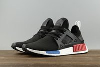 Wholesale Shadow Duck - Original NMD_XR1 PK Running Shoes Cheap Sneaker NMD XR1 Primeknit OG PK Zebra Bred Blue Shadow Noise Duck Camo Core Black Fall Olive
