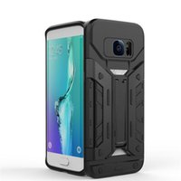 Wholesale note5 luxury case online – custom 2016 Luxury Hybrid Armor Slim Cover Case For samsung S7 S7 edge note7 note5 For Moto G4 Phone Back Covers