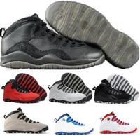 Wholesale Sport Shoes Discount China - Discount Retro 10 Basketball Shoes Men Women White Air Retros 10s X Men's Women's Sport Femme Homme China Brand Authentic Training Sneakers