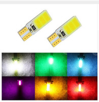 led luzes de cauda preço venda por atacado-Atacado T10 168 T15 W5W COB LED de Alta Potência Sinal Cauda Turn Light Bulb Super Branco preço de atacado