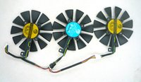 Wholesale Graphic Card Sleeves - Original Graphics cards cooling fan for ASUS STRIX-RX480-O8G-GAMING GTX1060 GTX1070 PLD09210S12M PLD09210S12HH