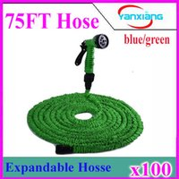 Wholesale Wholesale Garden Hose Fittings - Garden Hose Pro Expandable 100ft Metal Fitting Water Hose Flexible Hose 100pcs ZY-SG-02