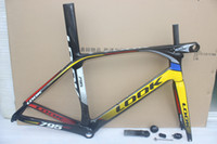 Wholesale Look Full Carbon Road Bike - look 795 carbon road Frame and stem glossy finish full carbon road bike frame frameset 3k Carbon fiber bicycle frame BB68 BB30 size XS S M