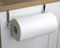 portarrollos de toallas al por mayor-Hot Hardware Kitchen Paper Holder Hanger Tissue Roll Towel Rack Baño Toilet Toilet Door Hanging Organizador Almacenamiento Holder Holder Rack