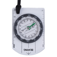 Wholesale Mini Scales For Sale - Hot Sale Portable Mini Baseplate Compass Map Scale Ruler For Outdoor Camping Hiking Cycling Scouts Outdoor Gadgets