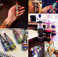 Wholesale Cheapest Vape Mods - 2017 Cheapest Price 500pcs Vape Bands Colorful Non-Slip Silicone Rings for e Cig Mod RDA RBA Vapor Band Vape Ring Non-Skid Accessories