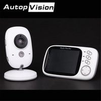 Wholesale Ip Power Control - VB603 Baby Monitor Wireless Security IP Camera WifiI Night Vision Audio Recording Surveillance Indoor Baby Monitor AT