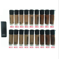 Wholesale Make Up Free Shipping Dhl - NC&NW Matchmaster Liquid Foundation make up 35ML NW55 NC55 Color DHL Free ship + gift