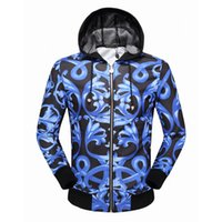 Wholesale Winter Jackets United States - New winter jacket with hood cardigan Europe and the United States foreign men Sports fleece jacket