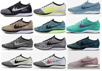 Wholesale Racer Back Tops - Top Quality Drop Shipping 2017 Men Women Casual Racers Gazelle Back White Grey Red Lightweight Breathable Walking Shoes 36-45
