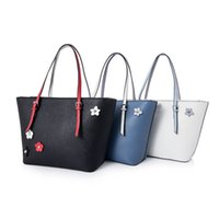 Wholesale Birds Tote - Fashion Women's Tote Blue Bird Collection Lady shoulder bag pu leather Handbag Colors SKUGU094