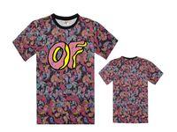 Wholesale Odd Future Donuts - Ofwgkta T Shirt Men Women Tyler The Creator Hip Hop Harajuku High Quality Tshirt Odd Future Ofwgka Donuts Paris Palace Top Tees