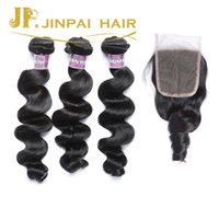 Wholesale JP Hair Good Quality Virgin Remy Brazilian Hair Extenstion And Closure Years Hair Factory Price