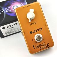 pédales d'effets de phase achat en gros de-JF-06 Pédale d'effet guitare Vintage Phase