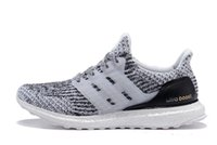 Wholesale 2017 Ultra Boost Triple Black white running shoes For men women Ultra Boost Primeknit Shoes sports sneaker size Free DHL