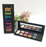 Wholesale Bomb Water - Face Glitter Bomb PRISMATIC Eyeshadow Palette makeup palettes 10 color DHL FREE GIFT