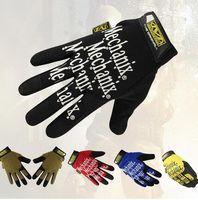 Wholesale Nylon Motorcycle - MECHANIX EXTERIOR Tactical Glove Outdoor Training Motorcycle Bike Glove