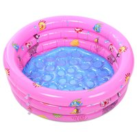 Wholesale Inflatable Paddling Pools - Wholesale-Outdoor Children Basin Bathtub Swimming Pool Children Swimming Pools Baby Inflatable Paddling Pool For Newborn Portable