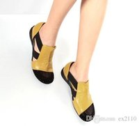 Wholesale mosaic borders resale online - Nice Fashion The Explosion Of Special Offer Increased With Flat Sandals Hollow Diamond Baotou Color Mosaic Light Casual Shoes Size