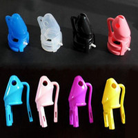 Wholesale Box Sex - Silicone Chastity Device Male penis lock anti-masturbation sex toys adult products M800 Cage With Retail Box