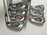 Wholesale Irons Cover - 2018 Free Customization AP3 718 Golf Irons Set 3-9,P With Covers 9 Kind Shaft Steel Graphite Regular Stiff Flex Available