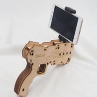 pistola ar ar portable bluetooth ar el ms nuevo estilo d vr juegos material de madera ar del juego del juguete para los telfonos androides del iphone del