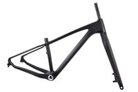 Wholesale fork 26er resale online - M190 carbon fat frameset fat bikes framest and fork fat bike fork er bicycle frame