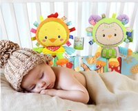 Wholesale 2017 new style Happy Monkey baby plush doll Stuffed Animals Plush Toys baby comfort doll year old baby toy by dhl