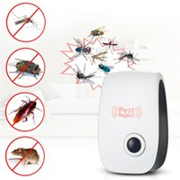 Repeller elettronico multifunzionale del repellente Repeller della zanzara dell'assassino ultrasonico di rifiuto del ratto anti-roditore repellente del mouse del mouse