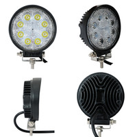Wholesale Truck Lights For Sale - Hot sale square 4 inch 24w led work light IP68, flood   spot beam , led driving light for trucks, tractor