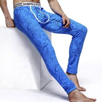 Wholesale Pants Render Warm Winter - Wholesale free shipping Men's trousers side Johns the man warm trousers pants render underpants Man long Johns Men's trousers of winter legg
