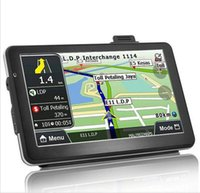 all spanish european - 7 inch Portable GPS Navigation Vehicle Navigator Car Navigator Exports the European and American trade global l atp203
