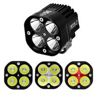 Wholesale 12 Volt 4x4 Led Light - 12 Volt Led Work Light 40w Spot Flood Beam Headlight 40w piece Tractor Driving Light 4x4 Led At Motor