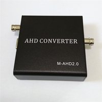 Wholesale Coaxial Cable Converters - AHD to VGA CVBS HDMI Converter Adapter Encoder Adopts 75-3 Coaxial Cable for CCTV 1pc