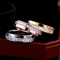 ingrosso gioielli per il commercio-Commercio all'ingrosso di gioielli di moda e anello di diamanti mezzo anello di diamanti pieno