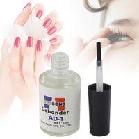 Wholesale Glue Debonder - Wholesale-10ml Nail False Eyelash Adhesive Glue Remover Liquid Nail polish remover make up remover Debonder A65