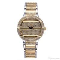 Wholesale Retro Gold Watch - High Quality Fashion Luxury Classic Brand Quartz Battery Replicas Watches Round IPG Gold Platel Diamond Retro Clocks Watch Shop