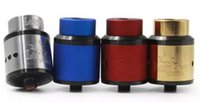 Wholesale atomizer goon resale online - 528 Goon Lost Art RDA Edition Goon RDA Clone Atomizer mm goon lostart with Wide Bore drip tip fit Battery mods