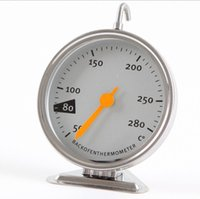 Wholesale Stainless Steel Thermometer Kitchen - Stainless Steel Oven Thermometers Kitchen Cooking Meat Tool Free Shipping