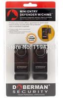 комплект для сигнализации дверной коробки оптовых-Оптовая продажа-DOBERMAN SECURITY Door Window Mini-Alarm SE-0129 home alarm security двери и окна комплект (2 шт в упаковке)