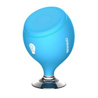 Wholesale bluetooth floating speaker resale online - Mini Whale Tail Floating IPX6 Waterproof Shower Portable Bluetooth Hifi Speaker with Sucker Phone Holder Stands led Light MIS135