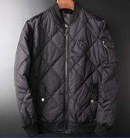 Wholesale Eiderdown Coat - Free shipping Men's POLO fashionable eiderdown cotton-padded jacket Sleeveless vest Brand ma3 jia3 coat Men's super light feather jacket